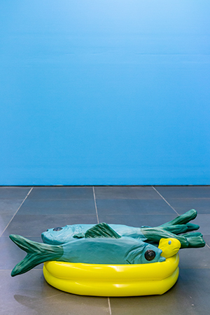 "Austrian Cultural Forum - ""How much is the Fish"" by Gabriele Edlbauer"